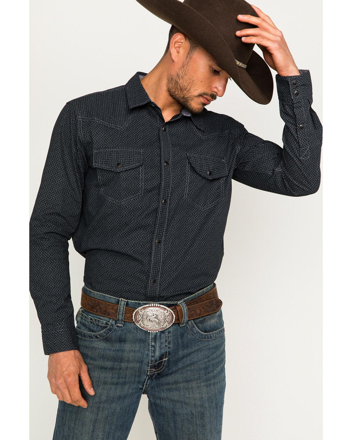 Men's Long Sleeve Country Shirts