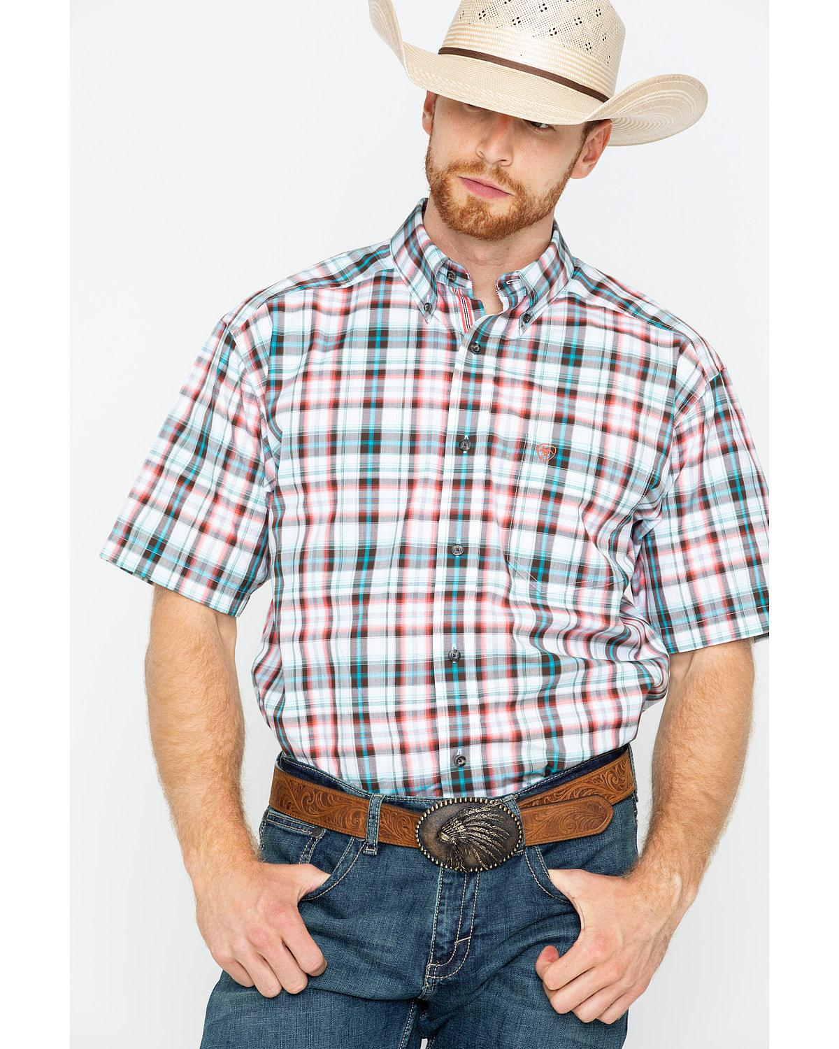 Men's Short Sleeve Country Shirts