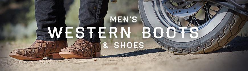 Men's Western Boots & Shoes