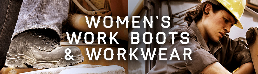 Women's Workboots & Workwear