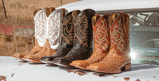 Shop Handcrafted Boots