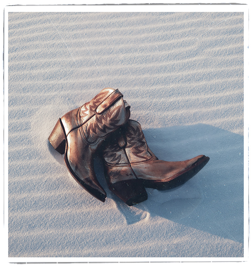 Boots in Sand