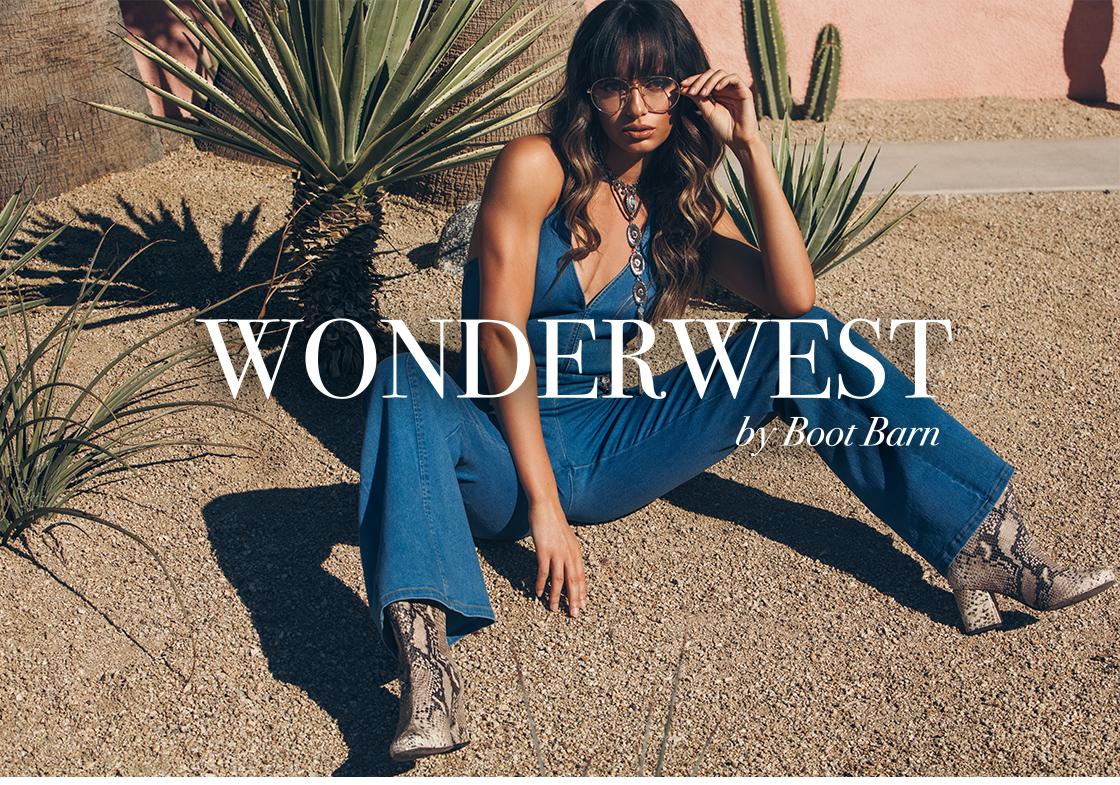 WELCOME TO WONDERWEST BY BOOT BARN  - Shop Women's Wonderwest »