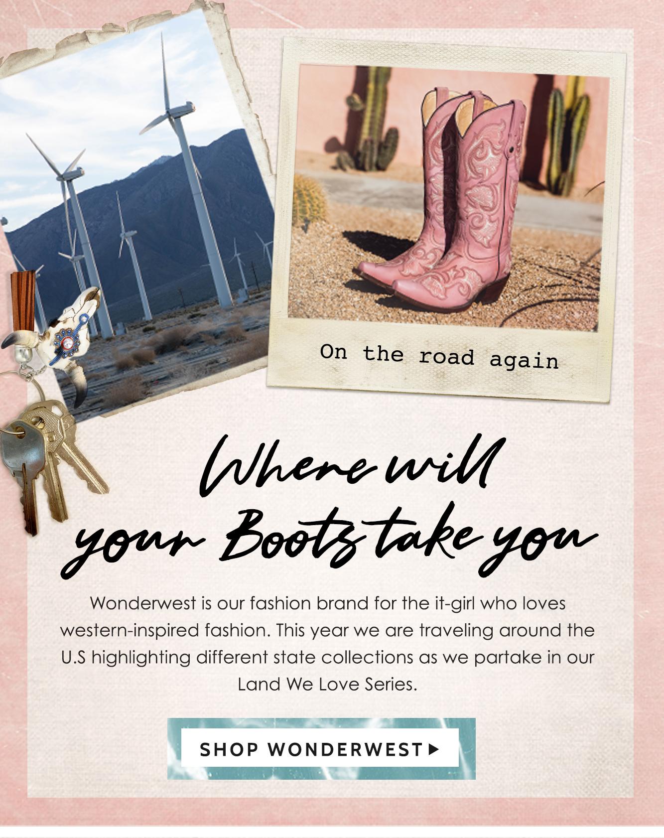 Shop Women's Wonderwest »
