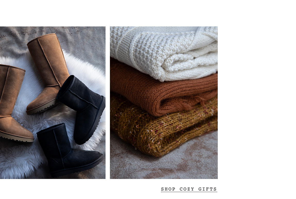 Holiday Gift Guide - Shop Cozy Gifts