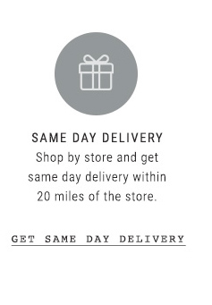 Get Same Day Delivery