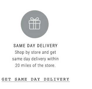 Same Day Delivery - Shop By Store