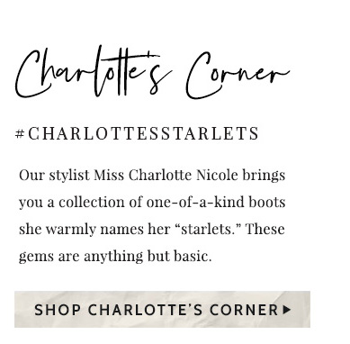 Shop Charlotte's Corner »