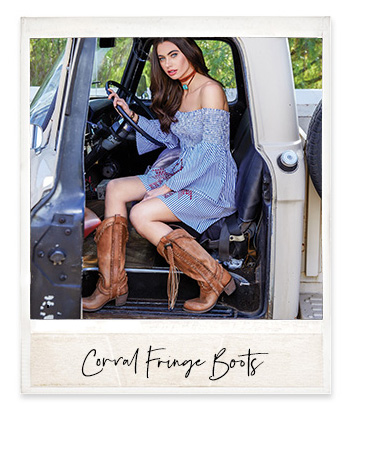 Shop Corral Fringe Boots »
