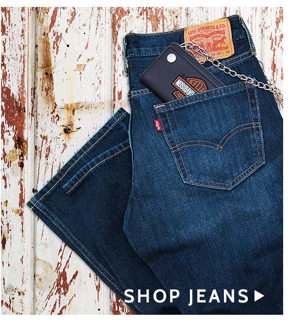 Shop Men's Jeans »