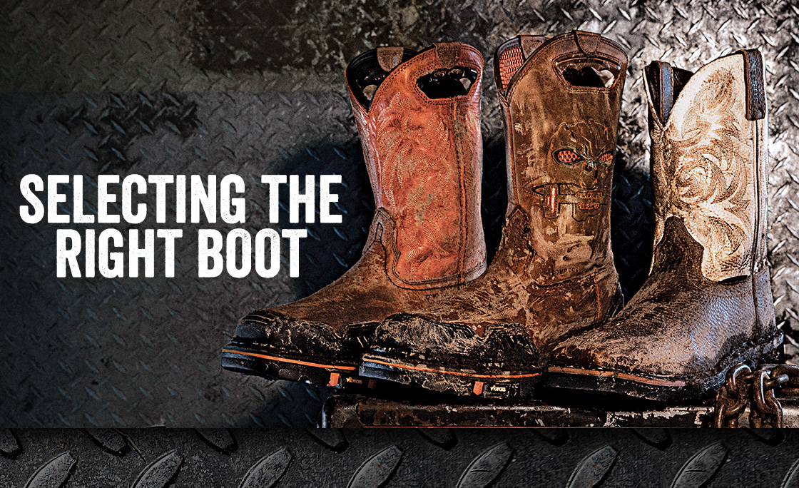 Selecting The Right Boot